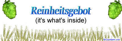 Reinheitsgebot - it's what's inside