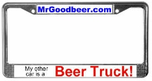 Click to buy - My other car is a beer truck!