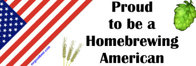 Quality Proud to be a Homebrewing American Merchandise